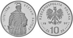 10 zł, Stefan Batory - półpostać