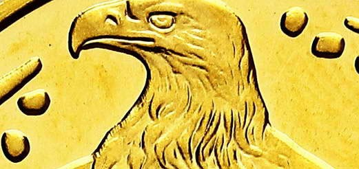 Orzeł bielik – polska złota moneta bulionowa NBP