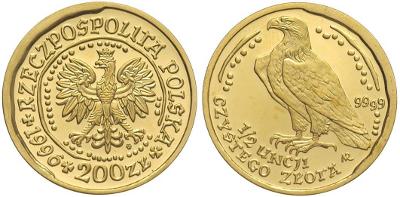 orzeł bielik moneta