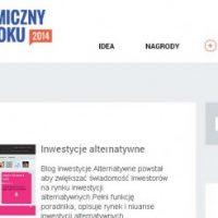 Wesprzyj nas w konkursie na ekonomiczny blog roku!