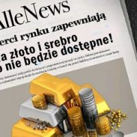 Złoto i srebro na Allegro niedostępne