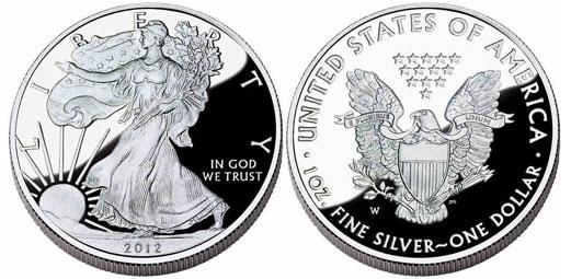 Srebrny amerykański orzeł