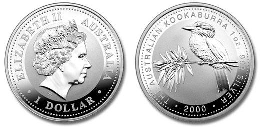 Srebrny kookaburra