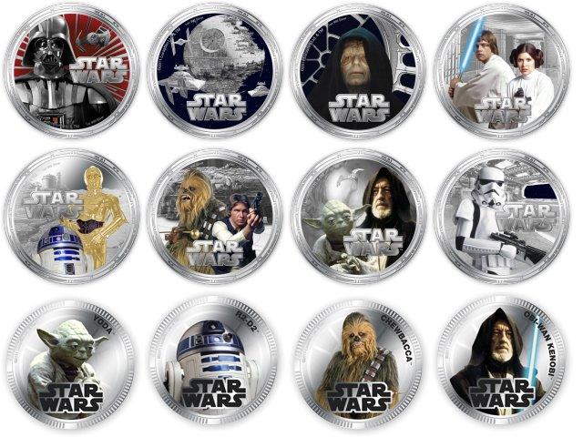 Star Wars srebro