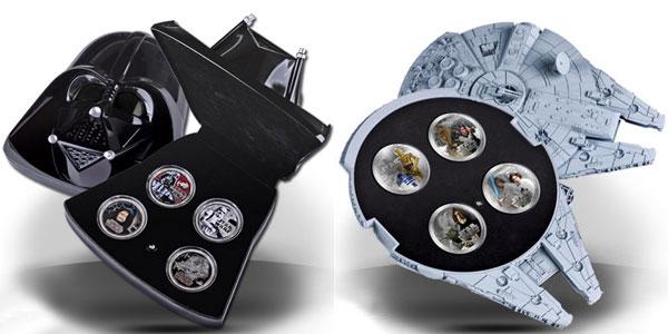 Star Wars srebrne monety