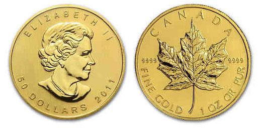Złoty liść klonu