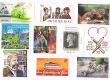 znaczki - jedne z przedmiotów kolekcjonerskich